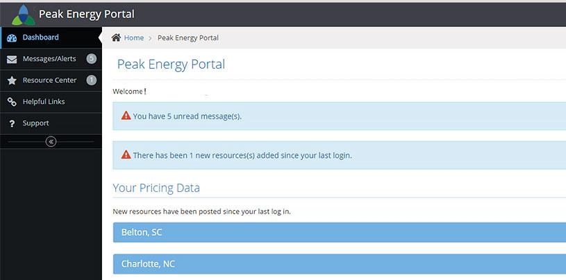 Peak Energy Portal